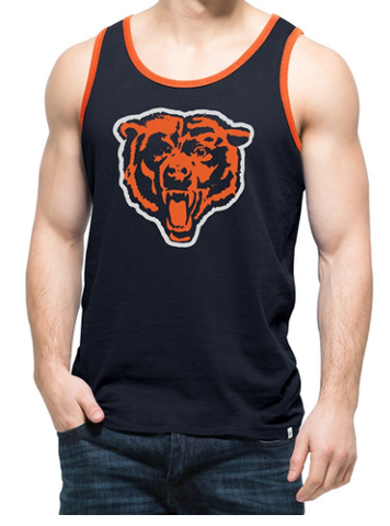 Chicago Bears Legacy Crosstown Tank Top by 47 Brand