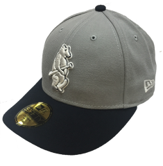 Cubs 1914 Gray and Navy 59FIFTY Low Crown Fitted Cap By New Era