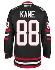 Mens Chicago Blackhawks Patrick Kane 2014 Stadium Series Premier Jersey by Reebok