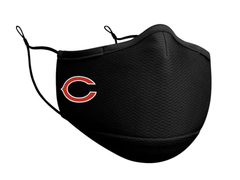 Adult Chicago Bears New Era Black On-Field Face Mask