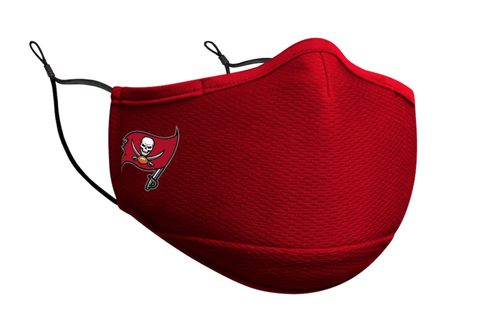 Adult Tampa Bay Buccaneers New Era Team Color On-Field Face Mask