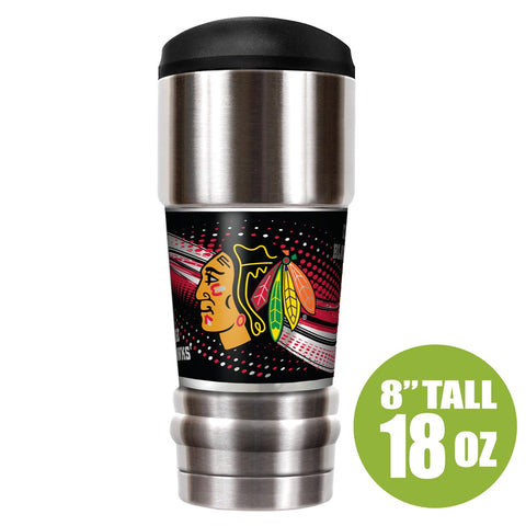 Chicago Blackhawks 18oz. MVP Tumbler By Great American Product