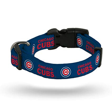 Chicago Cubs MLB Adjustable Pet Collar