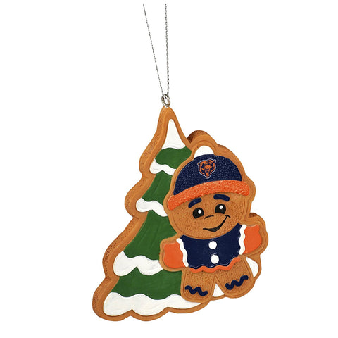 Chicago Bears Team Gingerbread Man Ornament
