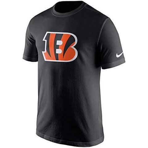 NIKE Cincinnati Bengals Youth Boys Essential Logo T-Shirt - Black