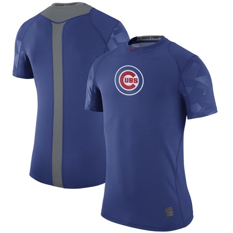 Chicago Cubs Nike Pro Cool Performance T-Shirt - Royal