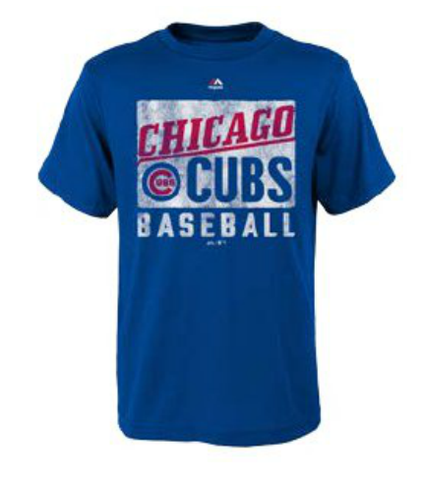 Youth MLB Chicago Cubs Out Of The Box Tee By Majestic