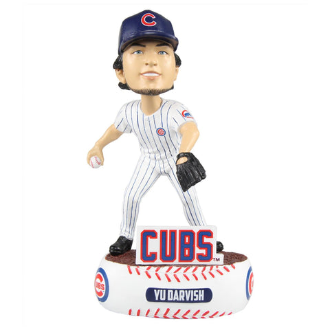 Yu Darvish Chicago Cubs MLB Baller Special Edition Bobblehead