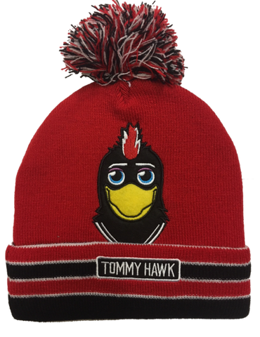 Chicago Blackhawks Toddler Deford Tommy Hawk Cuffed Beanie Hat