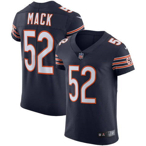 Men's Nike Khalil Mack Navy Chicago Bears Vapor Elite Jersey