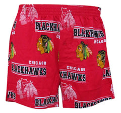 Chicago Blackhawks Mens Red Fusion Boxer Shorts by Concepts Sports