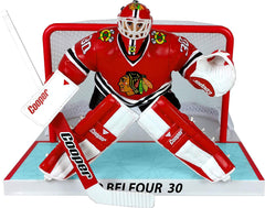 "Chicago Blackhawks Ed Belfour Limited Edition Imports Dragon 6"" Player Replica Figurine"