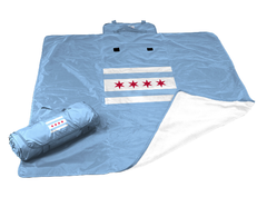 Chicago Flag All Weather Blanket