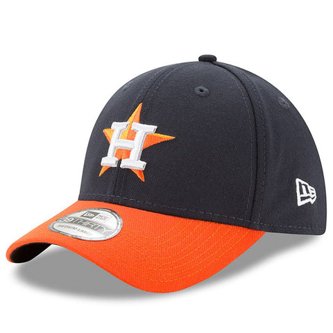 Men's Houston Astros New Era Navy/Orange MLB Team Classic 39THIRTY Flex Hat