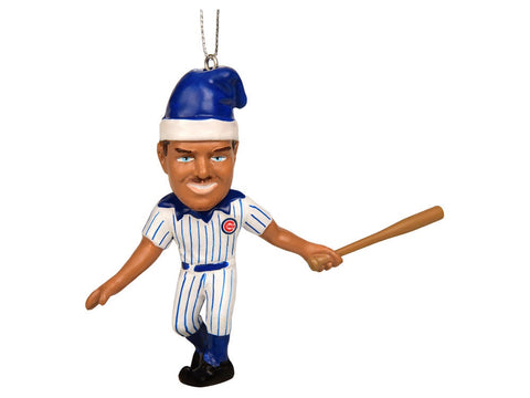 Kris Bryant Chicago Cubs Resin Player Elf Christmas Ornament