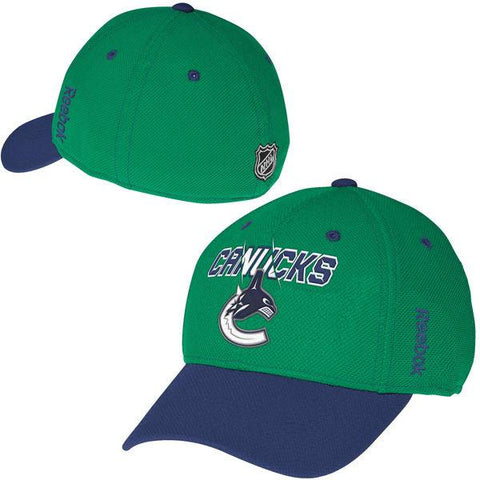Reebok Vancouver Canucks NHL Center Ice Second Season Structured Flex Hat