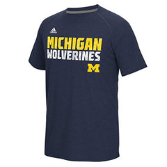 adidas Michigan Wolverines Youth Sideline Razor Climalite T-Shirt
