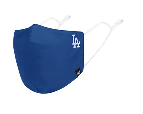 MLB Los Angeles Dodgers Core Royal Blue '47 Brand Face Mask