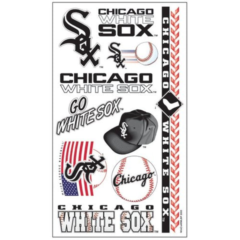 WinCraft MLB Chicago White Sox Tattoos