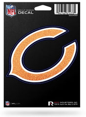 Chicago Bears Medium Bling Die-Cut Decal - Pro Jersey Sports