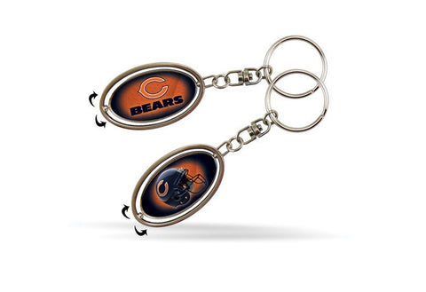CHICAGO BEARS SPINNER KEYCHAIN - Pro Jersey Sports
