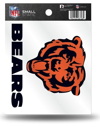 CHICAGO BEARS STATIC CLING SMALL - Pro Jersey Sports