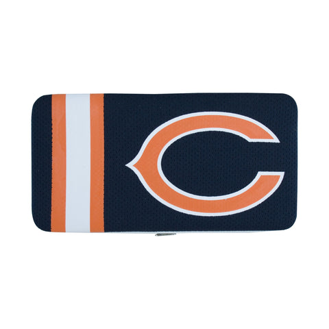 Chicago Bears Womens Soft Shell Wallet