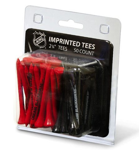 Chicago Blackhawks 50 Golf Tee Pack