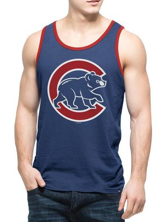 Mens Chicago Cubs '47 Brand Crosstown Tank Top