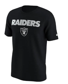 NFL Las Vegas Raiders Nike NFL Men's Lockup T-Shirt