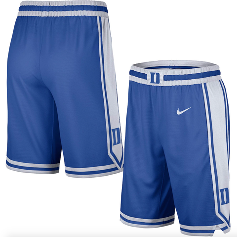 Duke Blue Devils Nike Replica Team Basketball Shorts - Royal