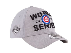 2016 Chicago Cubs Locker Room World Series Baseball Flex Fit Cap 2016 National League Champions