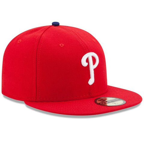 Mens New Era Philadelphia Phillies Authentic On Field Game 59FIFTY Hat