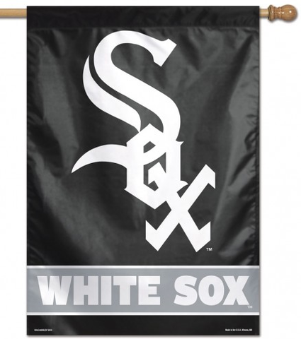Chicago White Sox 28X40 Vertical Flag By Wincraft