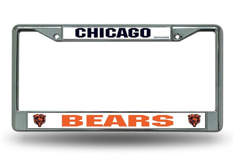 Chicago Bears License Plate Frame - Pro Jersey Sports