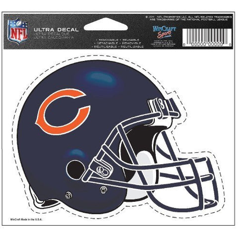 "CHICAGO BEARS Multi-Use Colored Decal 5"" x 6"" - Pro Jersey Sports"
