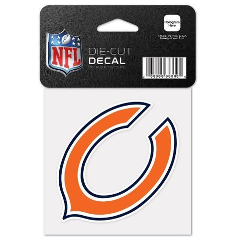 "CHICAGO BEARS Perfect Cut Color Decal 4"" x 4"" - Pro Jersey Sports"