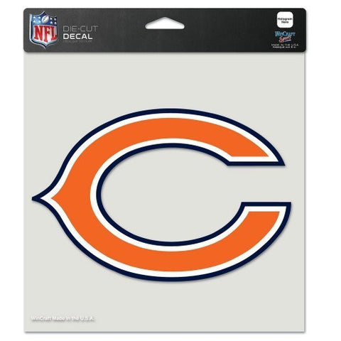 "CHICAGO BEARS Perfect Cut Color Decal 8"" x 8"""