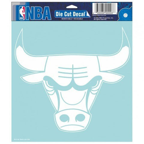 "CHICAGO BULLS Perfect Cut Decals 8"" x 8"""