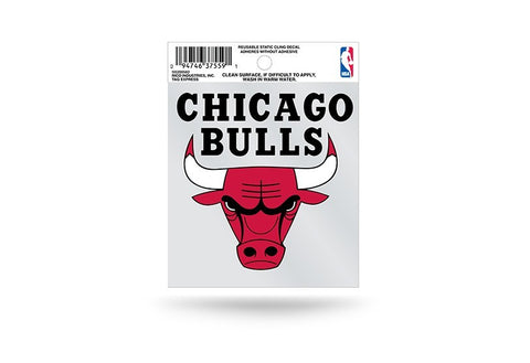 Chicago Bulls Small Window Cling