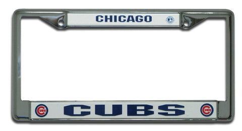 Chicago Cubs Chrome Frame - Pro Jersey Sports