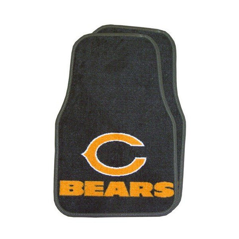 Fanmats Chicago Bears Team 2 Piece Car Mats - Pro Jersey Sports