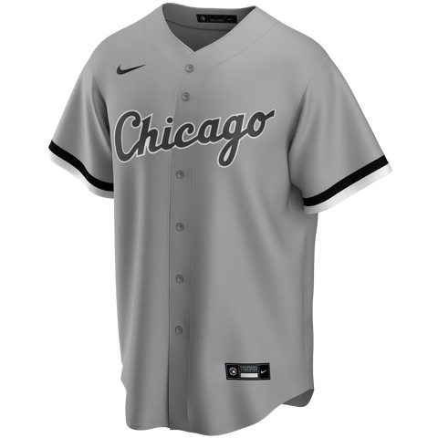 Men's Chicago White Sox Nike Gray Road Replica Team Jersey