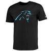 Mens Carolina Panthers Nike Black Essential Logo T-Shirt