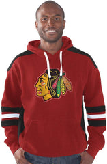 Chicago Blackhawks Breakaway Hooded Pullover Sweatshirt