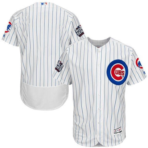 Mens Chicago Cubs Authentic Flex Base 2016 World Series Bound Jersey