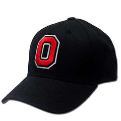 NCAA Ohio State Buckeyes Black J America Flex Fit Hat