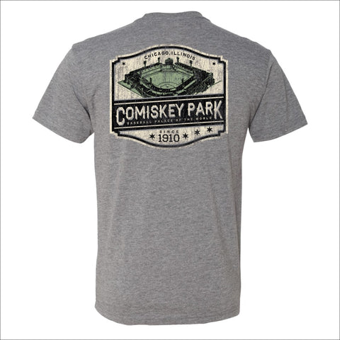 Men's Comiskey Park Heather Gray Since 1910 Tee