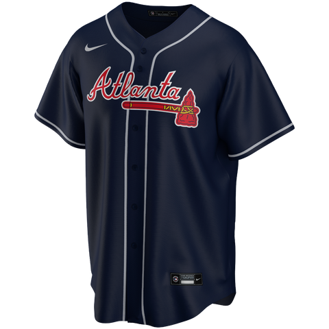 Men's Atlanta Braves Nike Navy Replica Team Jersey