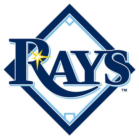 Tampa Bay Rays Rico MLB Small Static Decal